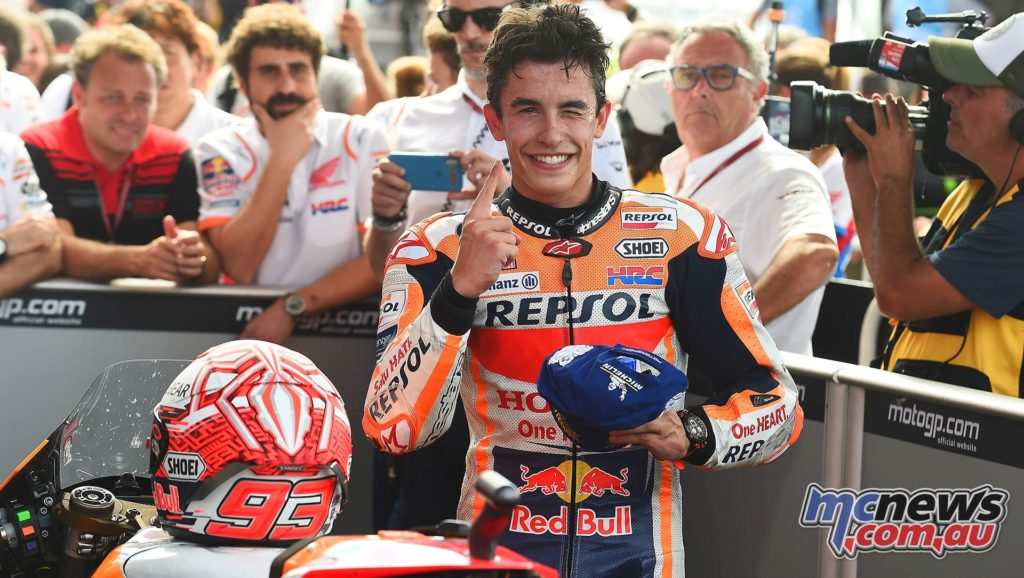 MotoGP Rnd Argentina Marquez Team