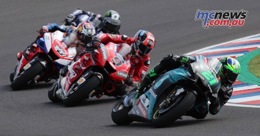 MotoGP Rnd Argentina Morbidelli Petrucci Miller