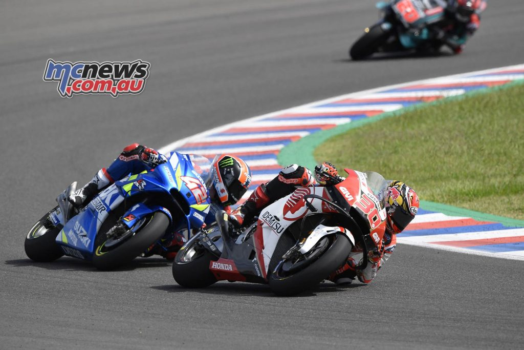 MotoGP Rnd Argentina Nakagami Rins