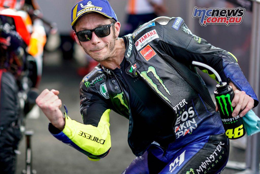 MotoGP Rnd Argentina Rossi Celebrate