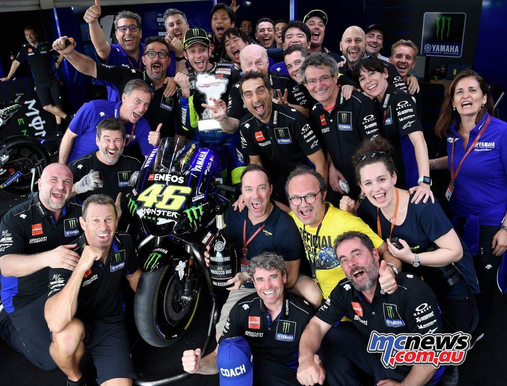 MotoGP Rnd Argentina Rossi Team