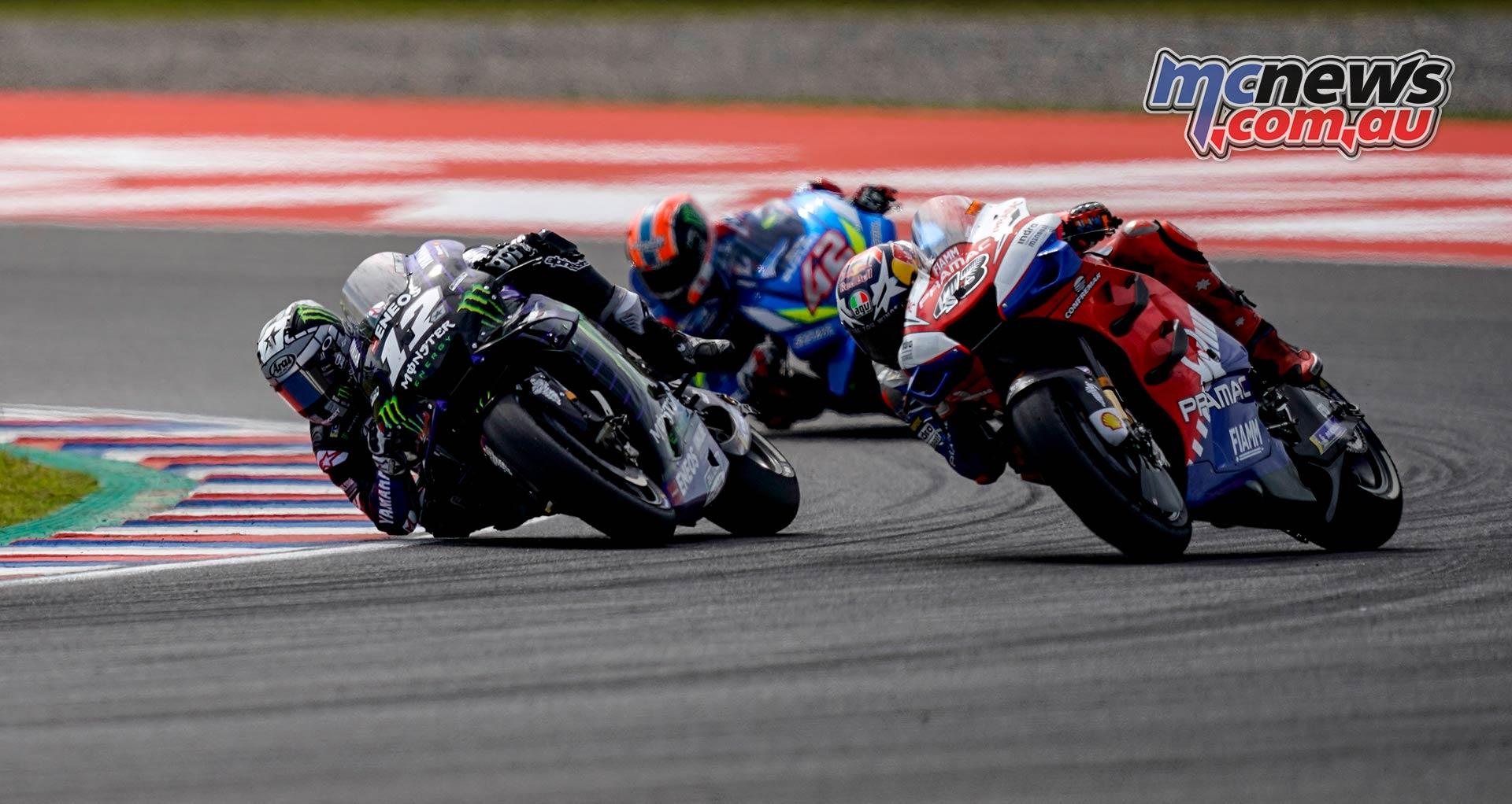 MotoGP Rnd Argentina Vinales Miller Rins