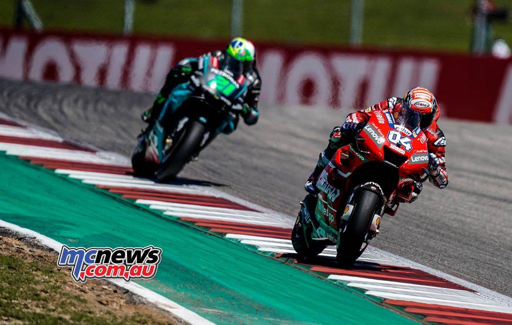 MotoGP Rnd COTA Andrea Dovizioso
