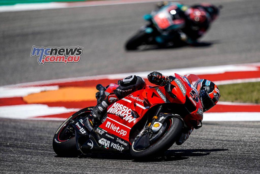 MotoGP Rnd COTA Danilo Petrucci