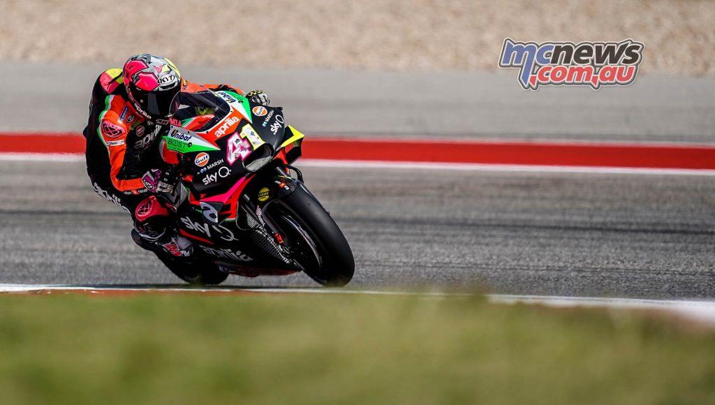 MotoGP Rnd COTA Friday Aleix Espargaro