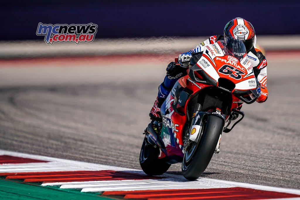MotoGP Rnd COTA Friday Bagnaia