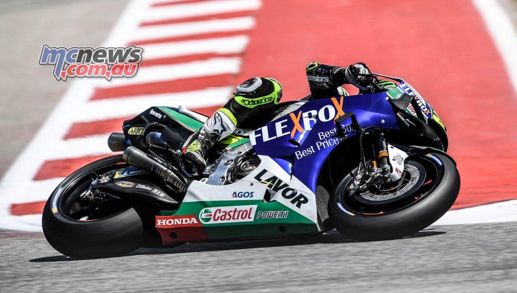 MotoGP Rnd COTA Friday Crutchlow