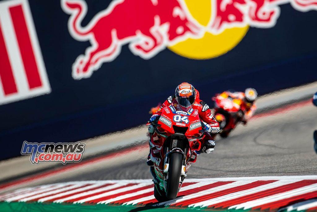 MotoGP Rnd COTA Friday Dovizioso