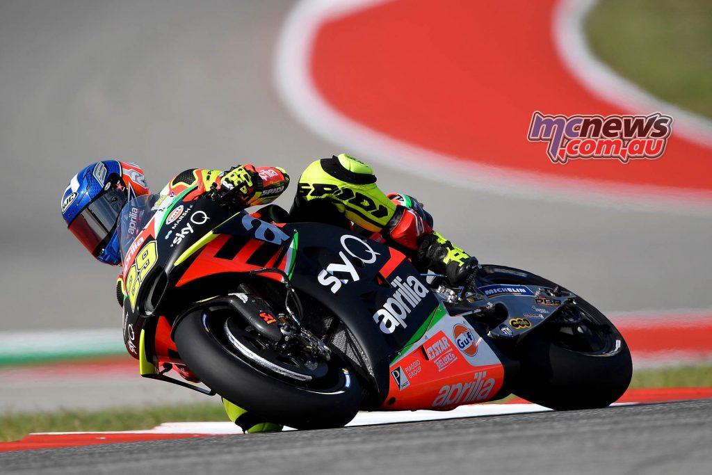 MotoGP Rnd COTA Friday Iannone