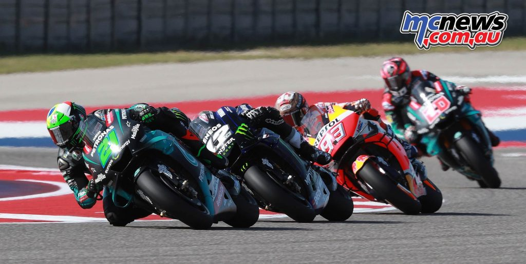 MotoGP Rnd COTA Friday Morbidelli