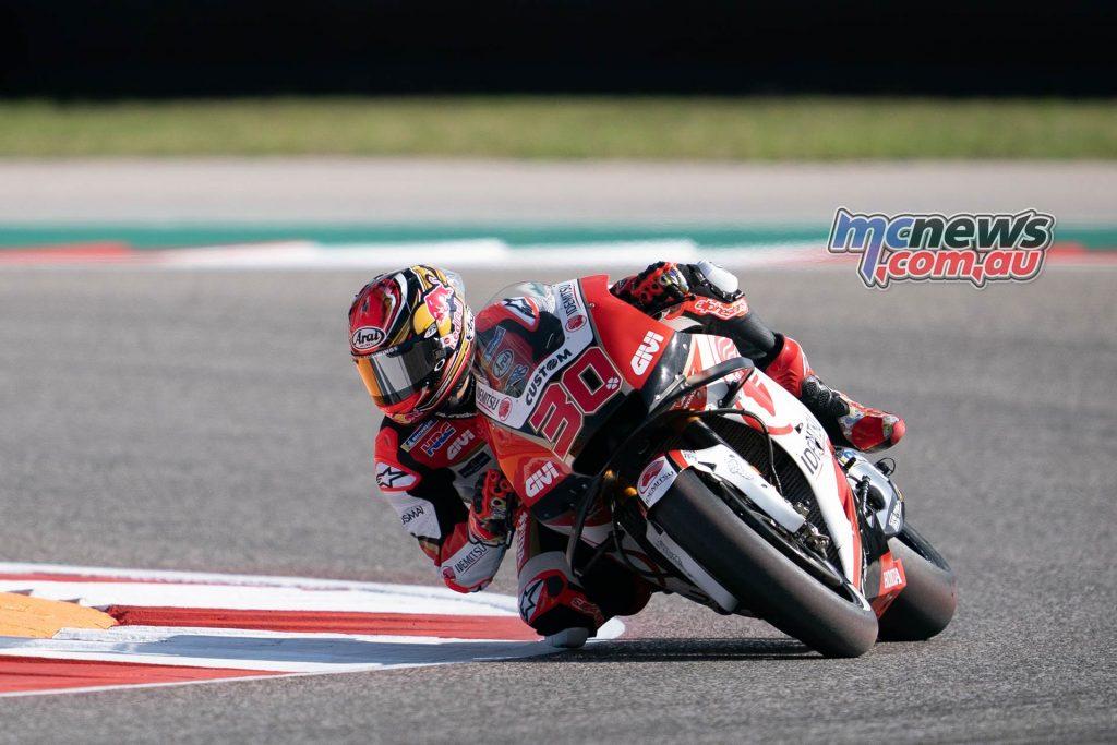 MotoGP Rnd COTA Friday Nakagami
