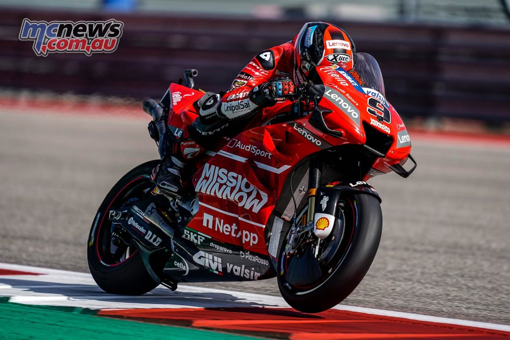 MotoGP Rnd COTA Friday Petrucci