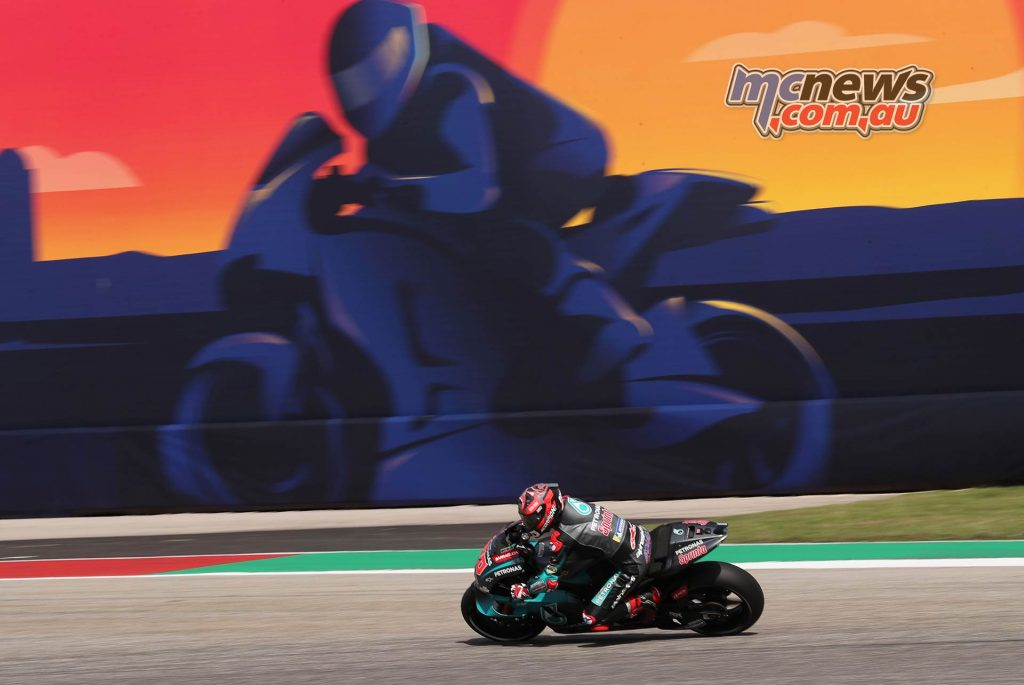 MotoGP Rnd COTA Friday Quartararo