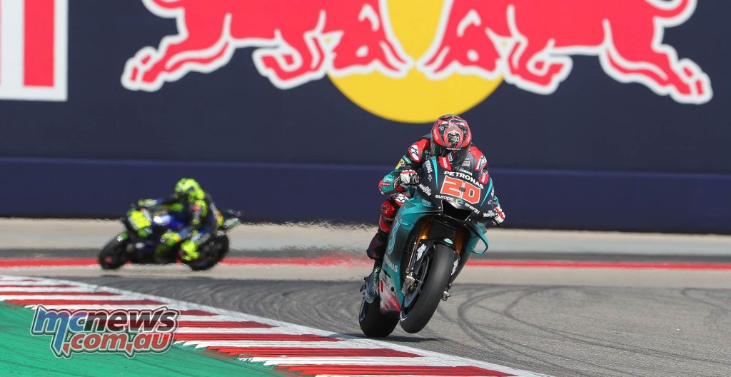 MotoGP Rnd COTA Friday Quartararo