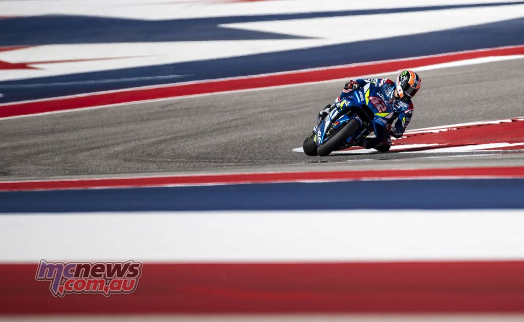 MotoGP Rnd COTA Friday Rins