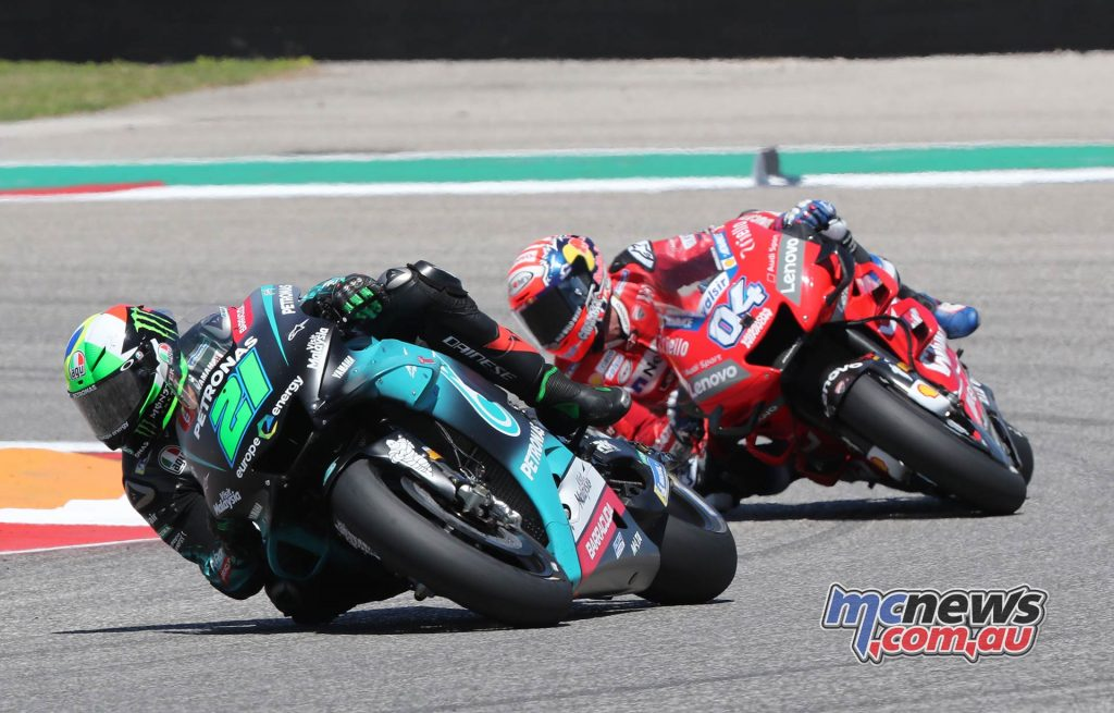 MotoGP Rnd COTA Morbidelli Dovizioso