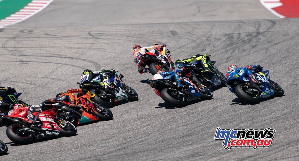 MotoGP Rnd COTA Start
