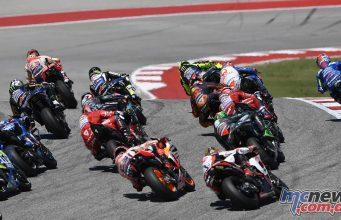 MotoGP Rnd COTA Starts