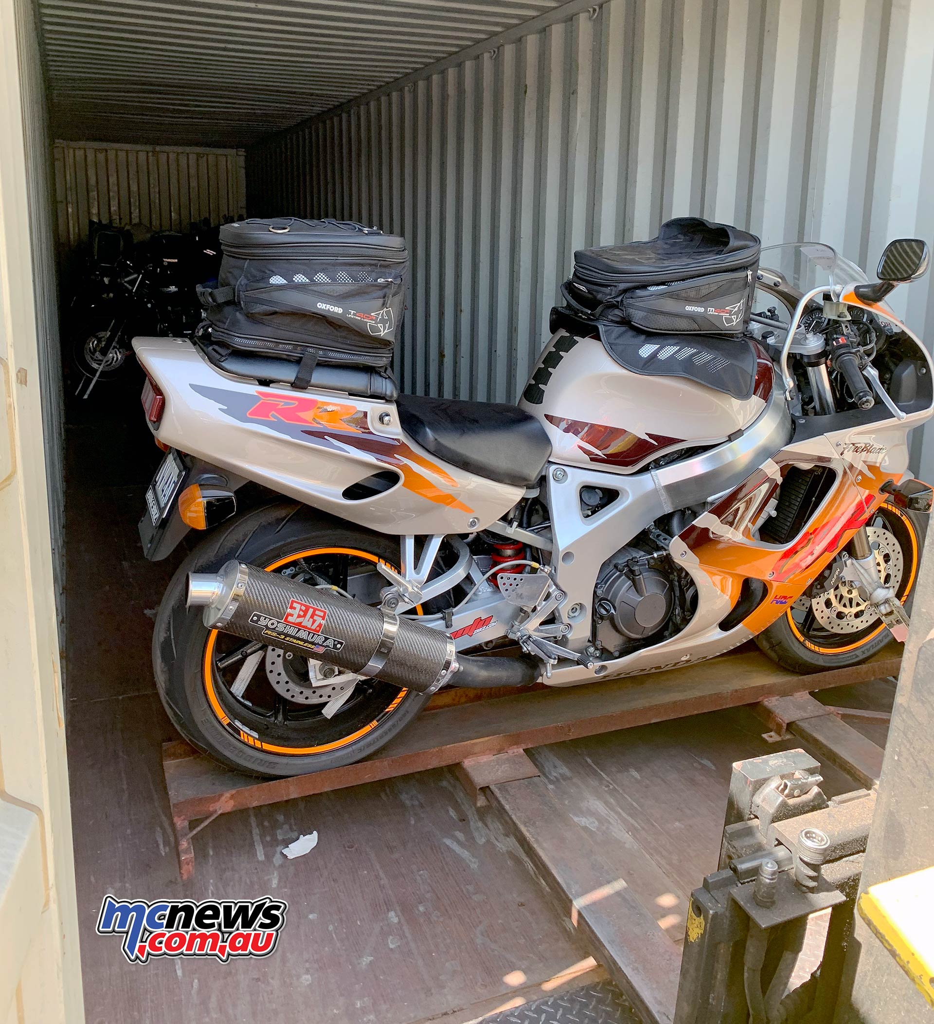 TT Get Routed Loading Fireblade Container