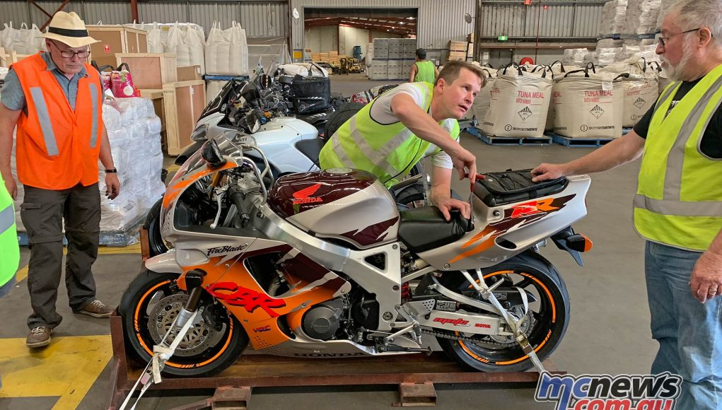TT Get Routed Loading Fireblade Ant Dave