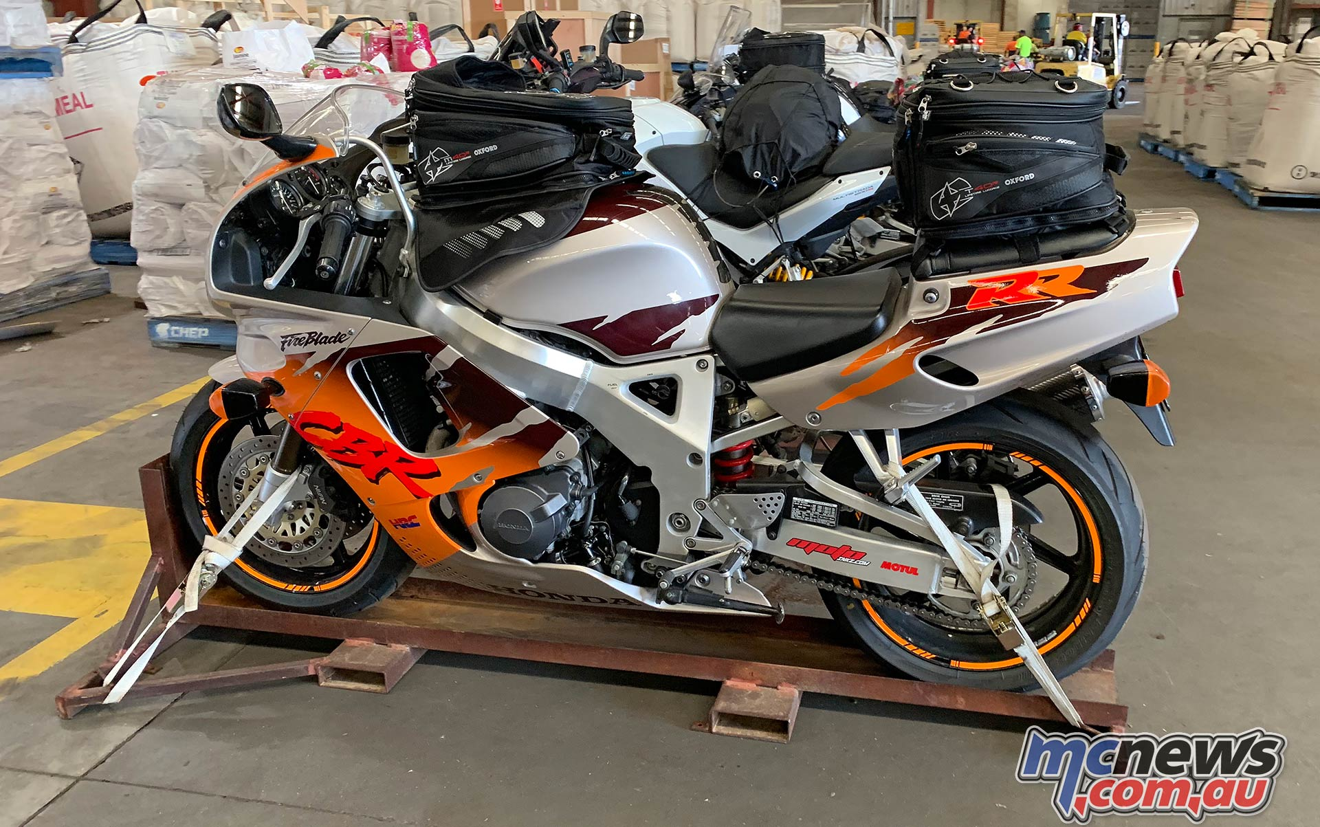 TT Get Routed Loading Fireblade Oxford