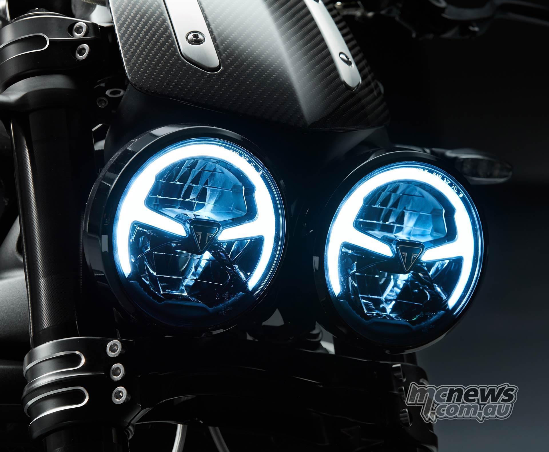 Triumph Rocket TFC Lights