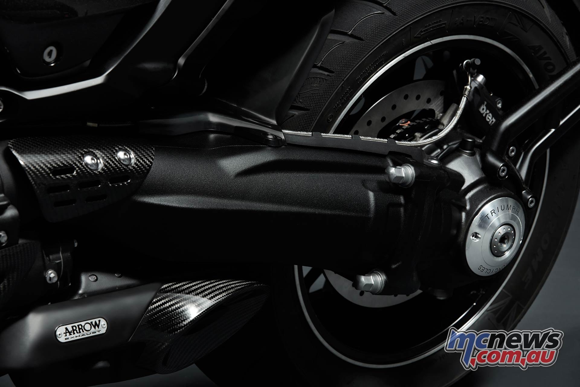 Triumph Rocket TFC Shaft