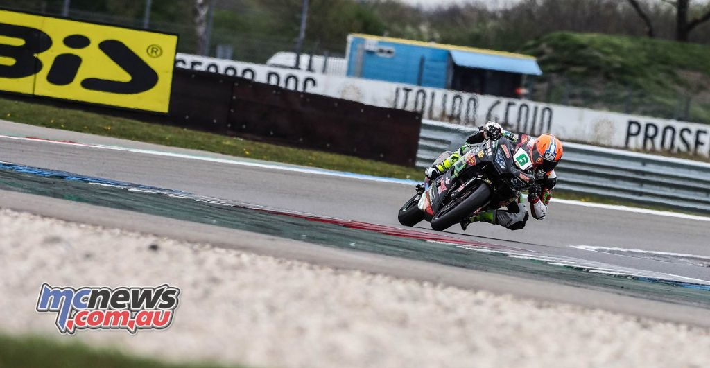 WSBK Rnd Assen Day WorldSSP Schotman