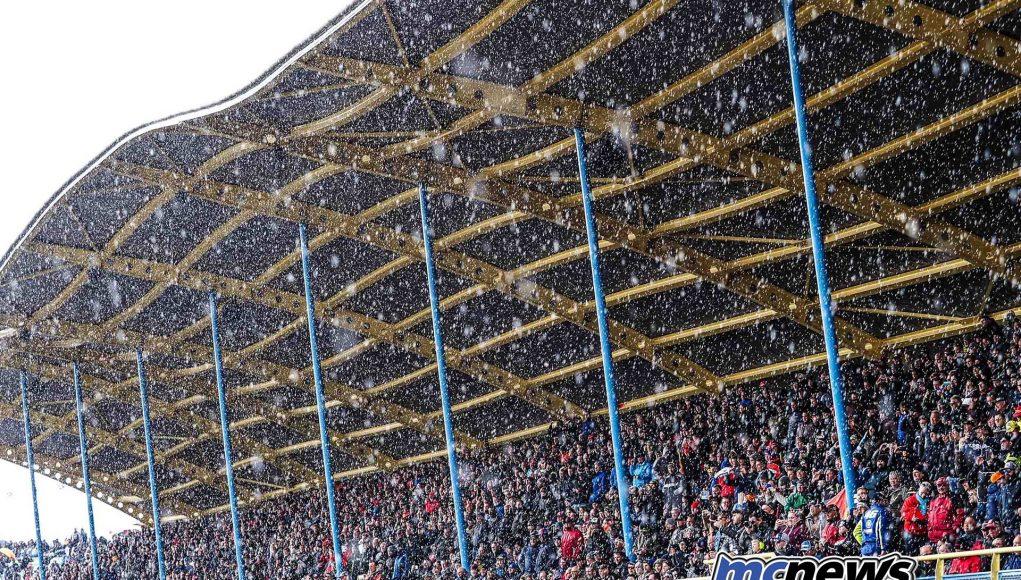 WSBK Rnd Assen Day Snow