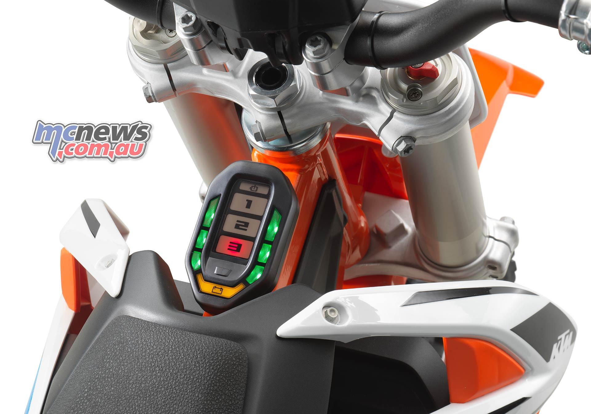 KTM SX E Instruments