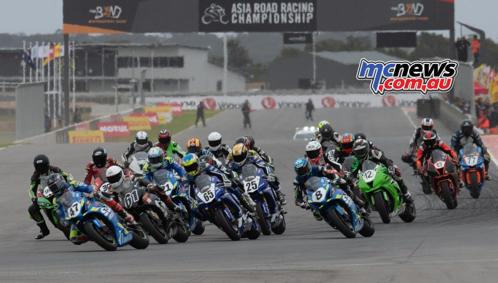 ASBK Rnd The Bend RbMotoLens SBK R Start Maxwell