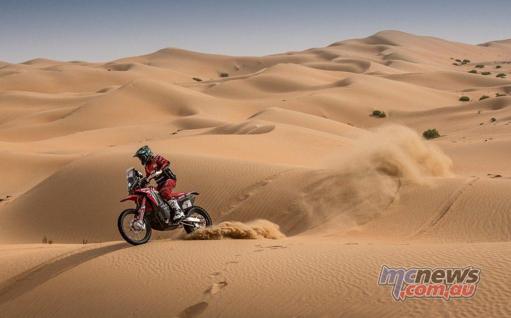 Dakar Saudi Arabia Honda