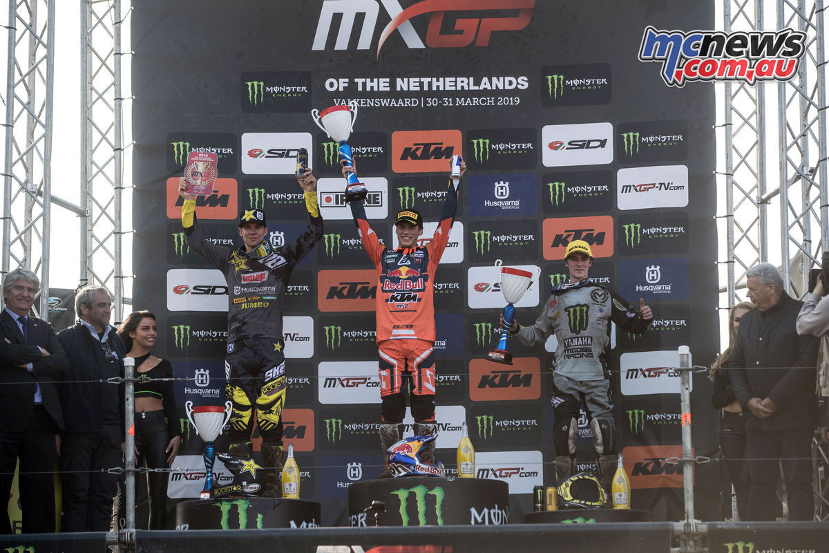 MXGP Rnd Netherlands MX Podium