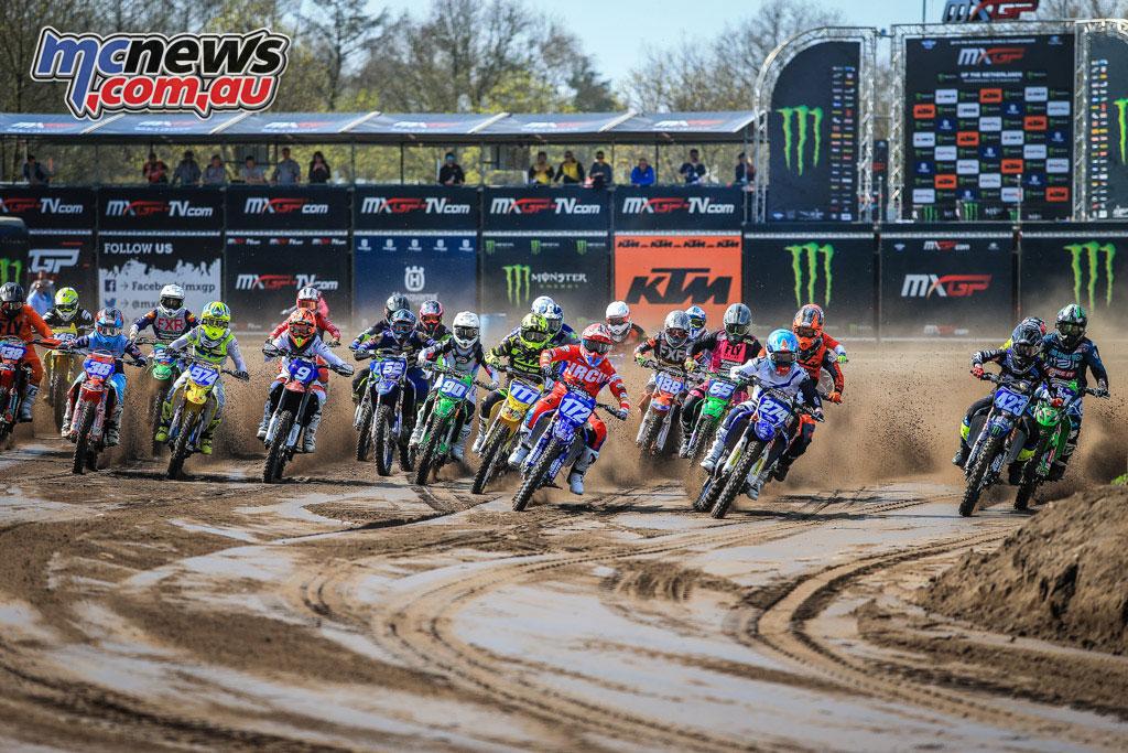 MXGP Rnd Netherlands WMX Start