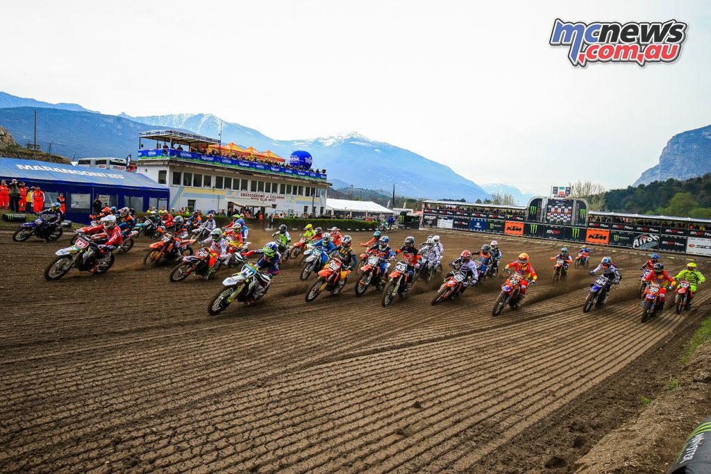 MXGP Rnd Trentino EMX Start
