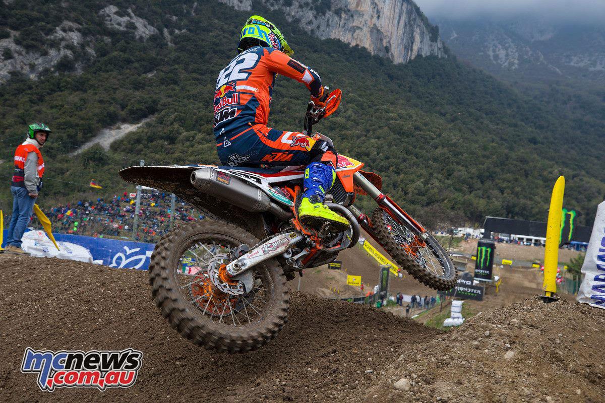 MXGP Rnd Trentino Tony Cairoli