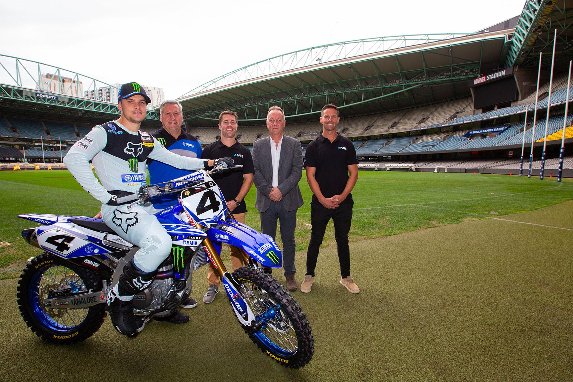 Melbournes Marvel Stadium will host AUS X
