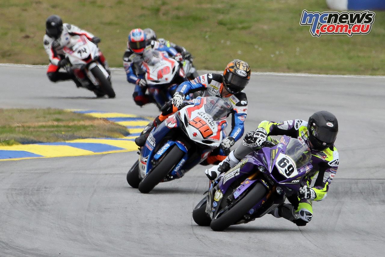 MotoAmerica Rnd Atlanta Sat Hayden Gillim