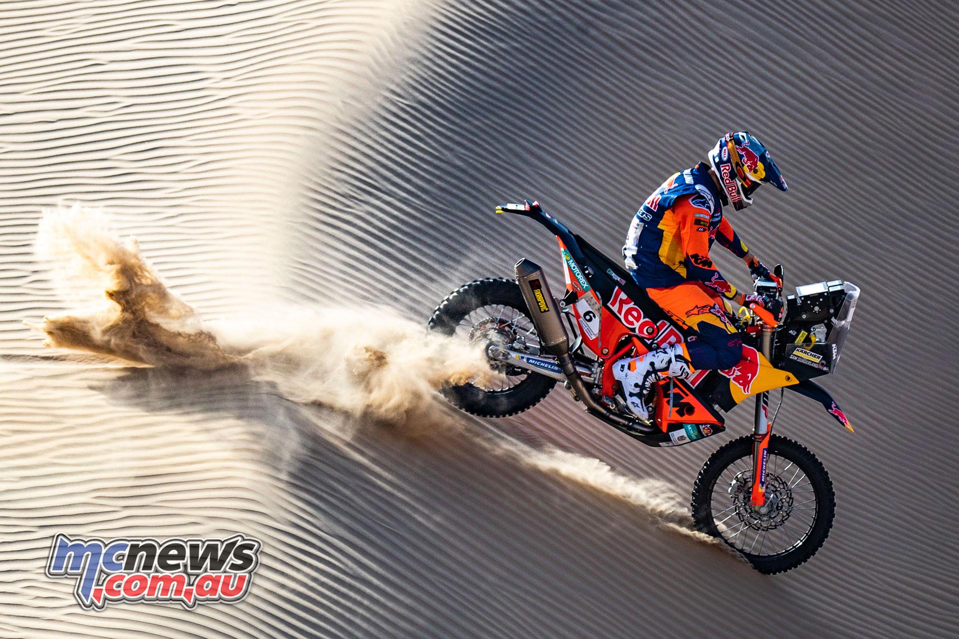 Sam Sunderland KTM RALLY Abu Dhabi Desert Challenge