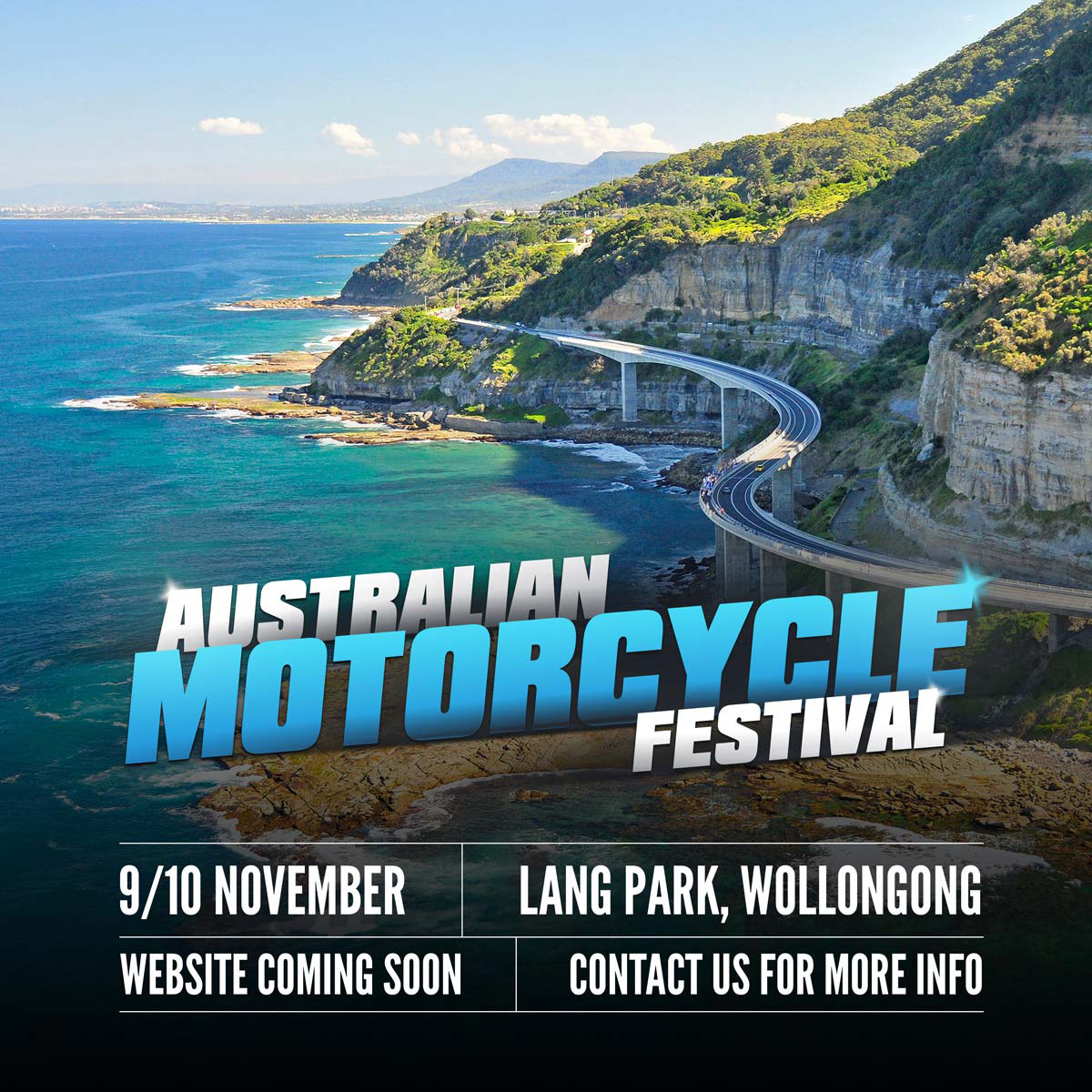 The Australian Motorcycle Festival is set for Woolongong