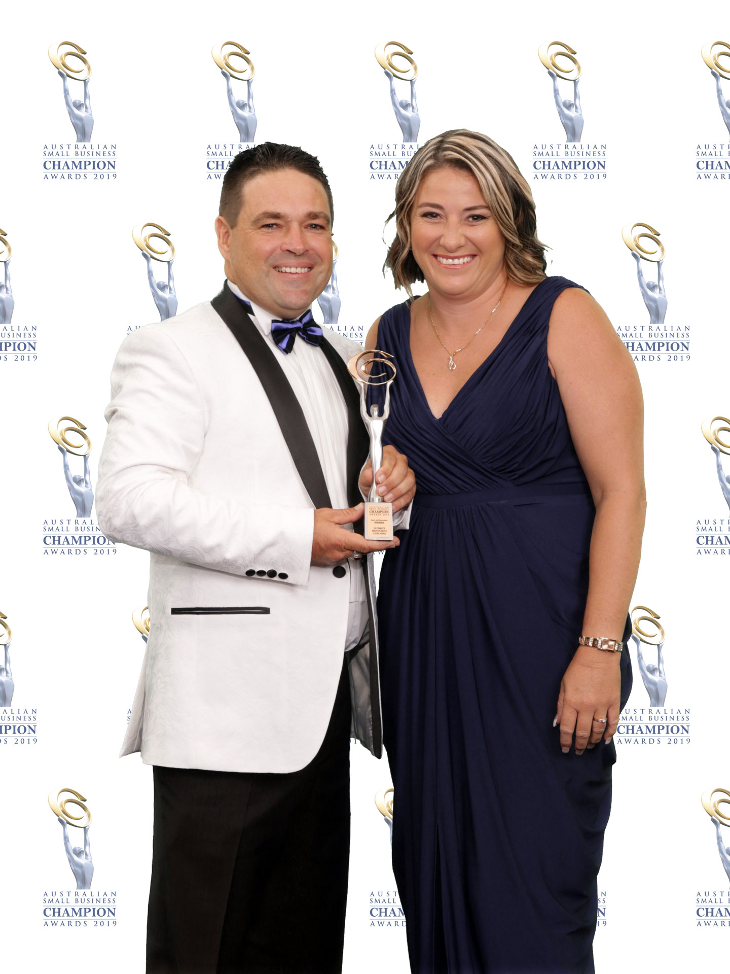 Ultimate Motocross Coaching Jodie Herson and wife awards night
