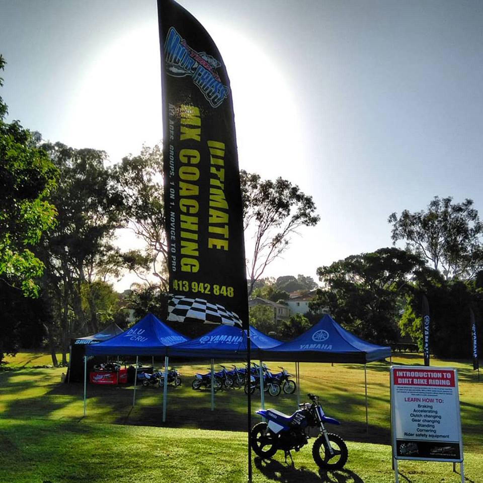 Ultimate Motocross coaching has won the Australian Small Business Award
