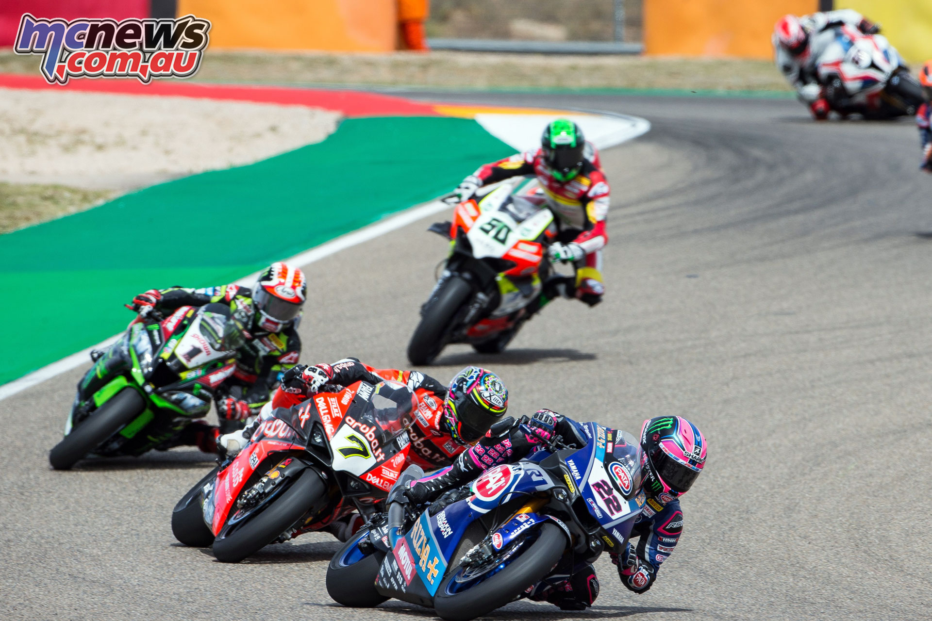 WorldSBK Rnd Aragon Sun Alex Lowes