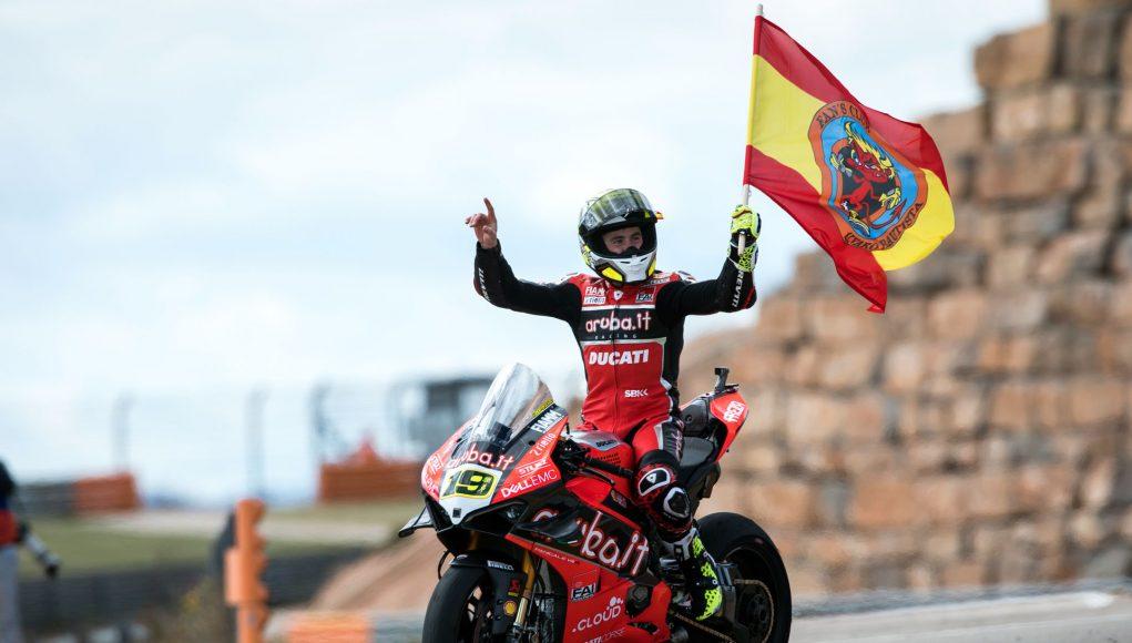WorldSBK Rnd Aragon Sun Alvaro Bautista