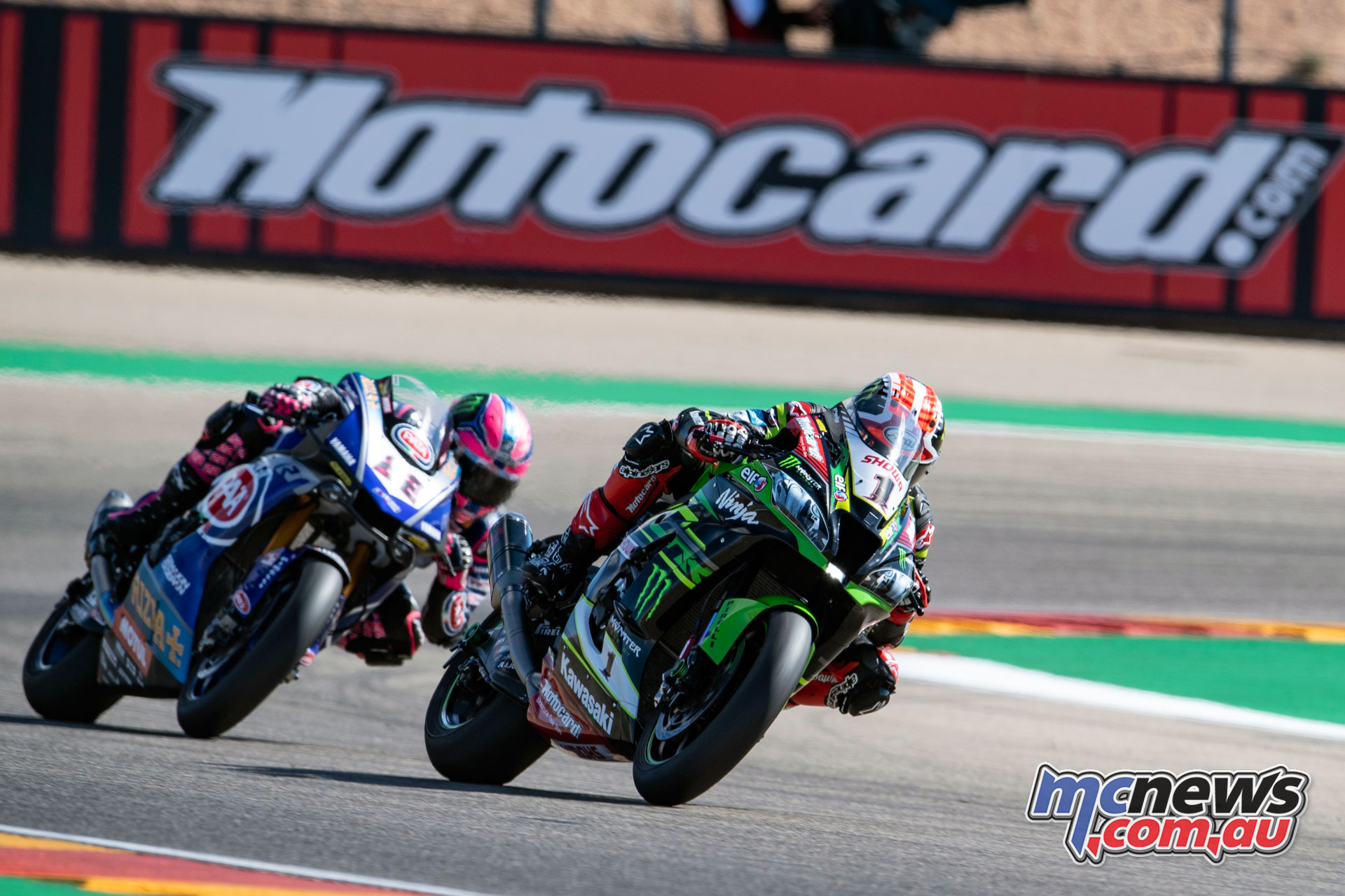 WorldSBK Rnd Aragon Sun Rea GB