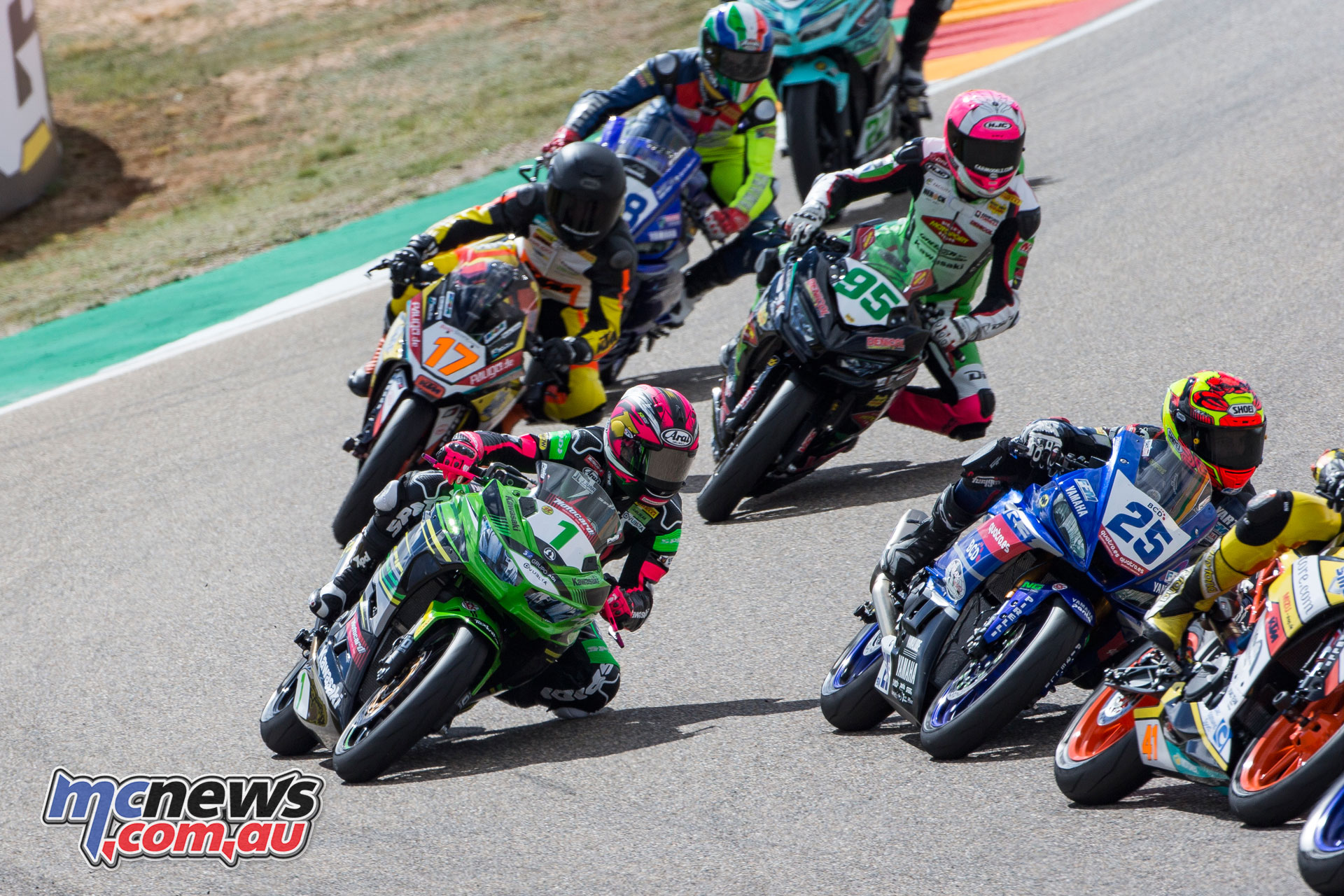 WorldSBK Rnd Aragon Sun SSP Race Carrasco CQ