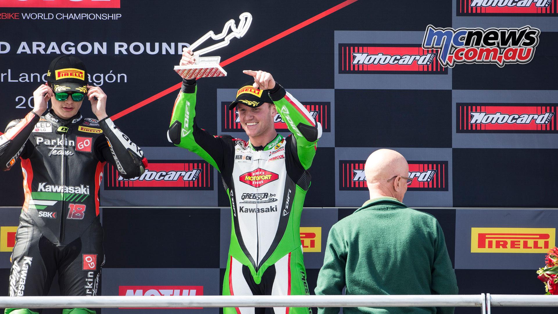WorldSBK Rnd Aragon Sun SSP Race Deroue CQ