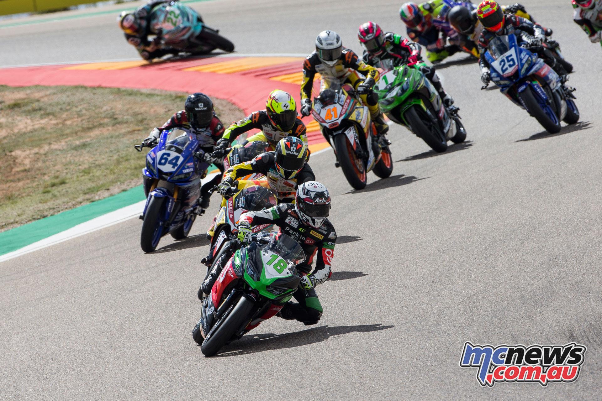 WorldSBK Rnd Aragon Sun SSP Race Gonzalez CQ