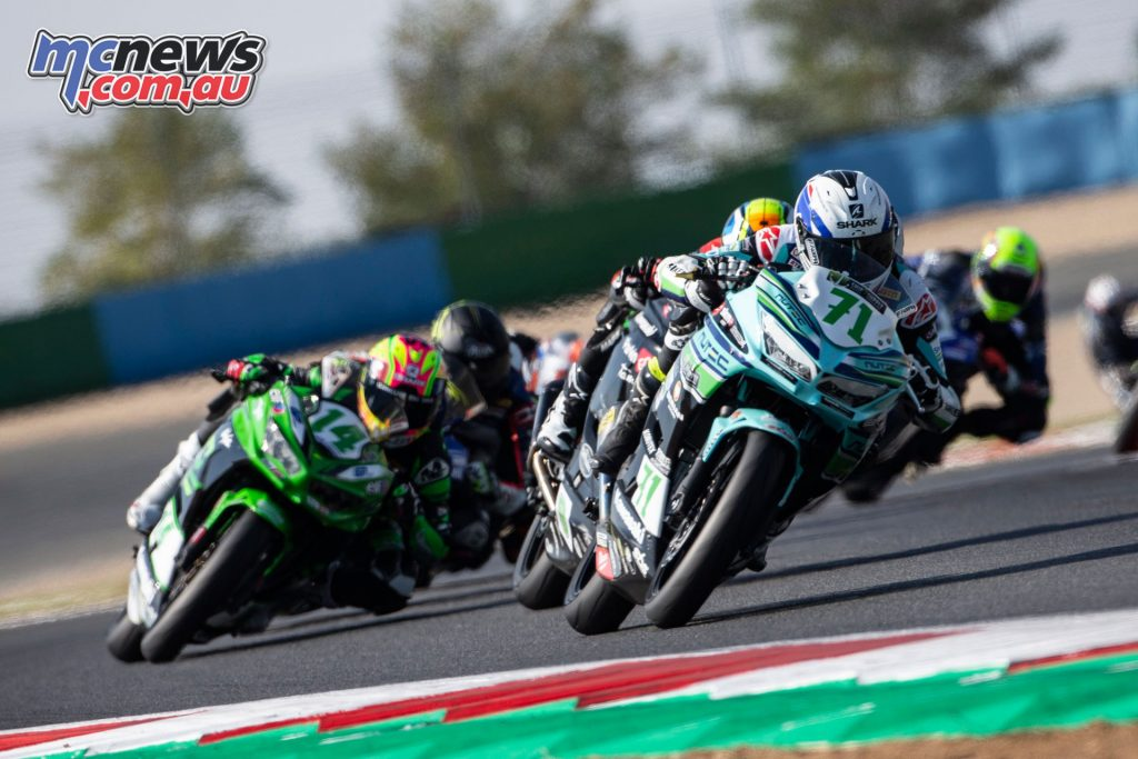 WorldSBK Rnd Aragon Sun Tom Edwards Kawasaki