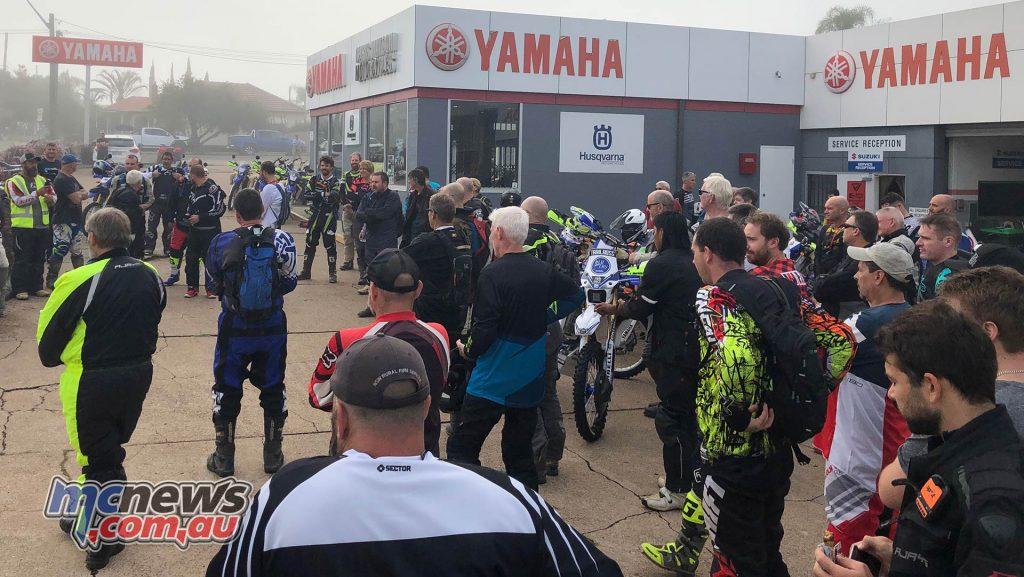 Yamaha WRR Rally Adventure Ride